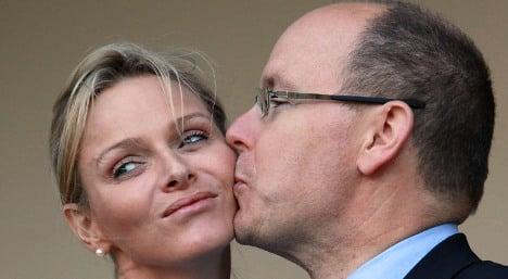 Monaco's royals celebrate birth of twins