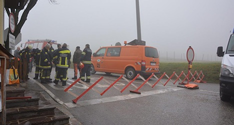 Dramatic evacuation of Hohe Wand in ice storm