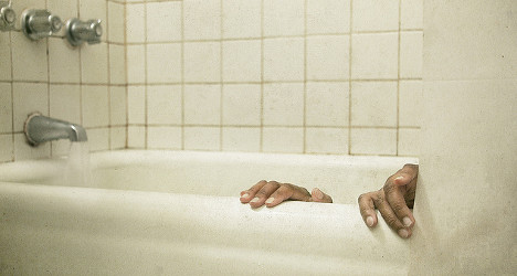 French pensioner spends six days stuck in bath