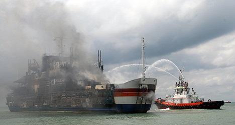 Three Italians among fire-hit ferry dead