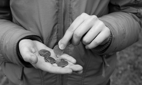1.4 million children in Italy live in poverty
