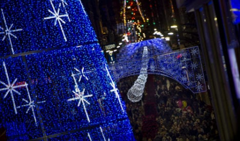Madrid ushers in New Year – a day early