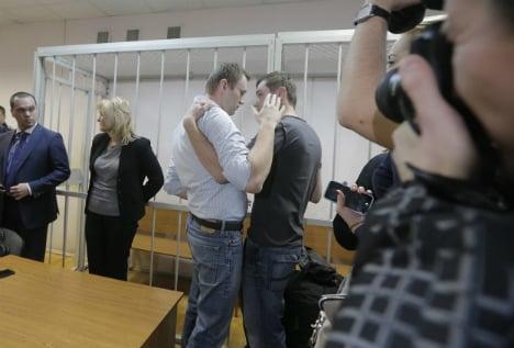 Berlin condemns Russian opposition sentences