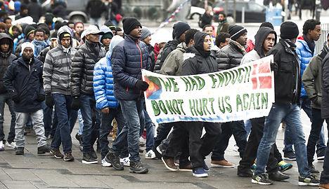 Eritreans protest against disputed Danish report