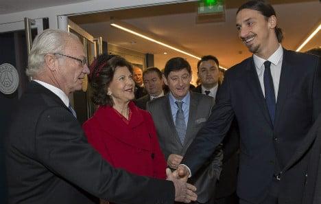 Zlatan backtracks on King's banquet snub