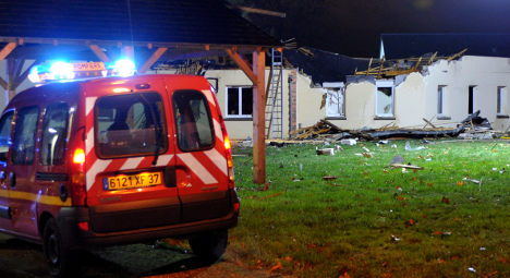 French jet crashes into home for disabled