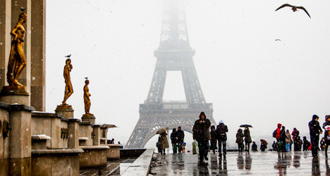 Will anywhere in France have a white Christmas?