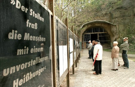 Bulldozer havoc at concentration camp site