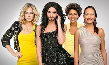 'Girl power' for Austria's Eurovision