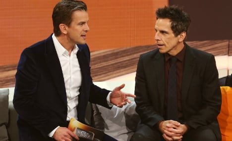 Wetten Dass says tschüss with Ben Stiller