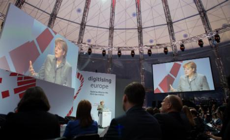 Merkel speaks out against net neutrality