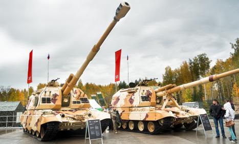 Swedish researchers warn of Russian arms