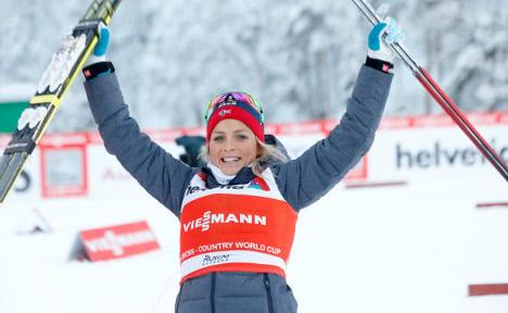 Norway's Johaug wins 10km cross-country