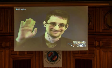 Snowden thanks Sweden and has no regrets
