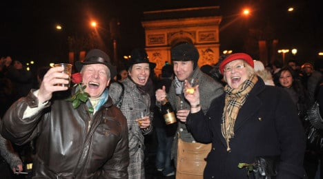 Ten ways to spend New Year's Eve in France