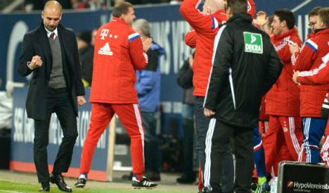 Bayern romp clear while Dortmund lose again