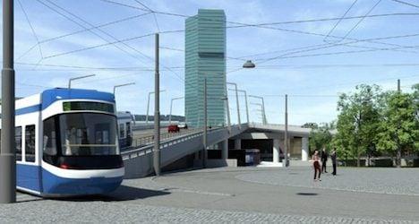 Work on new Zurich streetcar line set to begin