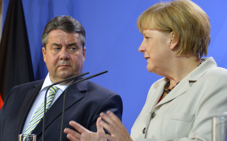 SPD leaders hit back at Merkel's record
