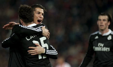 Real Madrid make it 20 in a row with Almeria win