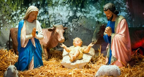 Baby Jesus stolen from Christmas crib again