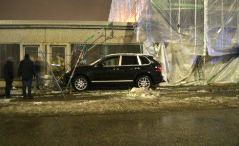 Polite Porsche driver wreaks collision havoc