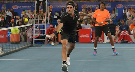 Federer in India hails new tennis league