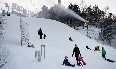 Swedish ski season slides into action