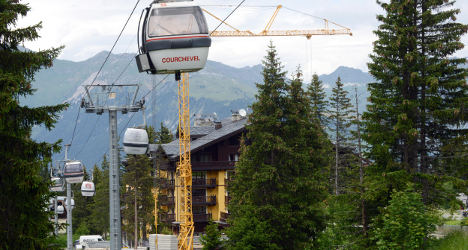 Only 40 of France's 200 ski stations are open