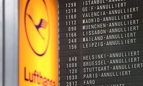 Lufthansa strike cancels 30 Danish flights