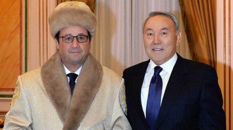 Hollande fur hat photo becomes net sensation