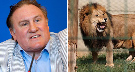 'I killed and ate two lions', claims Depardieu