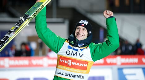 Koudelka defies weather for Lillehammer win