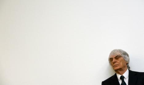 German bank sues Ecclestone for €345mn