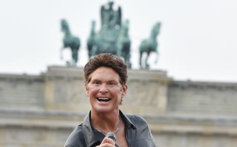 'The Hoff' to star in NYE at Brandenburg Gate