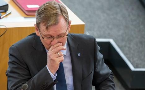 Ramelow bunks off his first Bundesrat sitting