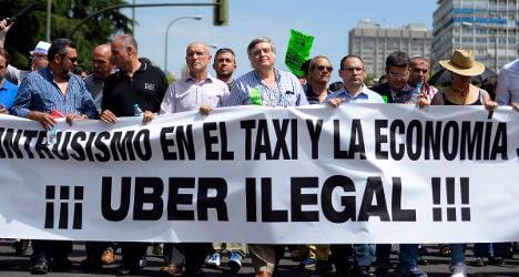 Uber eyes appeal against Spain ban