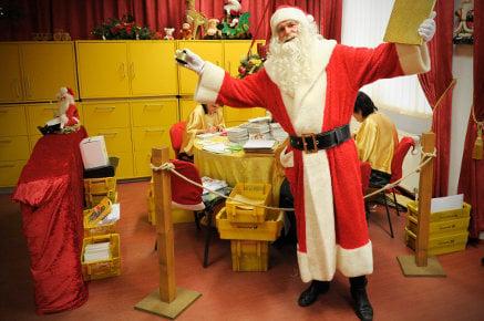 To Santa, care of Himmelpfort post office