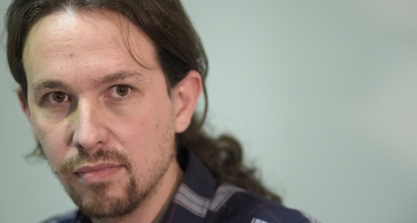 Christmas 'crappers': Podemos boss honoured