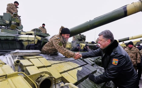 Merkel to have a chilly Ukraine Christmas