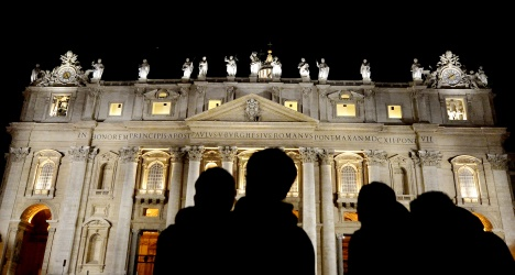 Italian protester climbs St Peter's Basilica – again