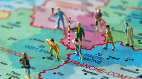 France votes to redraw map of its regions