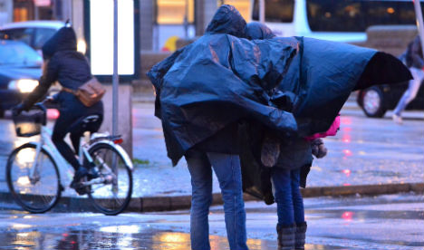 Sweden warned as winter storm approaches