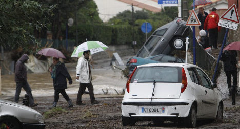 IN IMAGES: Fatal floods hit south of France