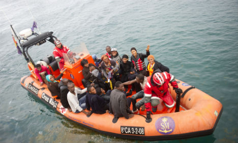 Search continues for 22 missing migrants