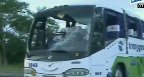 French tourists hurt in Cuba bus crash