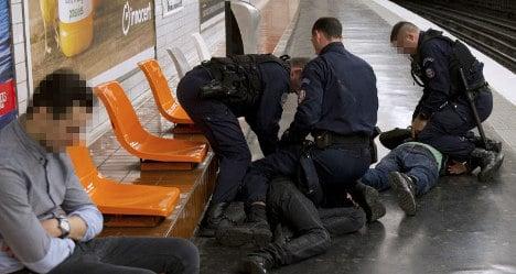 Violent theft on France's public transport rises