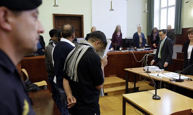 Seven found guilty in people smuggler trial