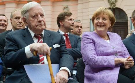 Was Helmut Schmidt an 'impeccable Nazi'?