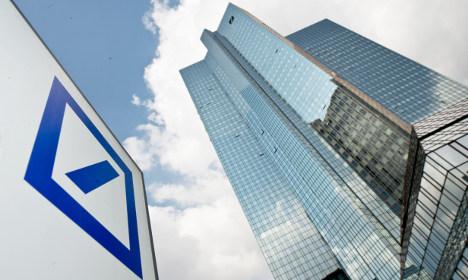US sues Deutsche Bank over tax scam
