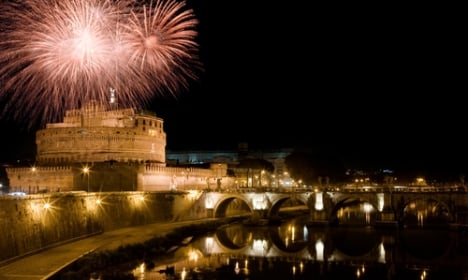 Rome fireworks seized in New Year blitz
